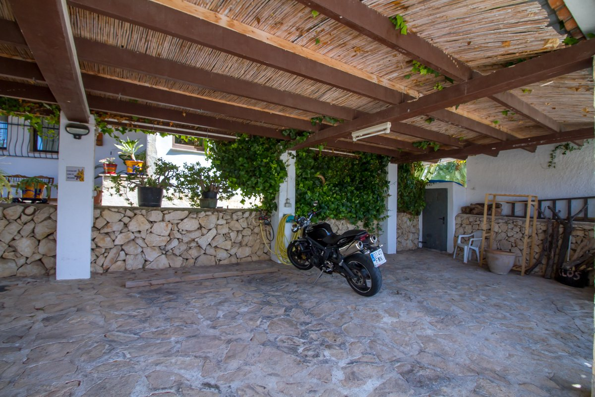 Well located property in Calpe, with views to the Penon