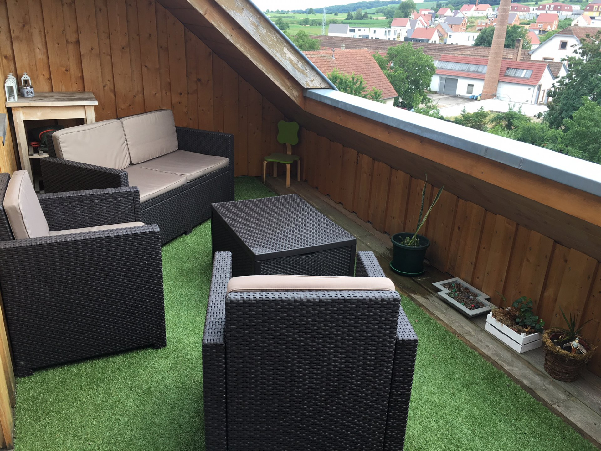 4PIECES TRIPLEX - TBE - TERRASSE -