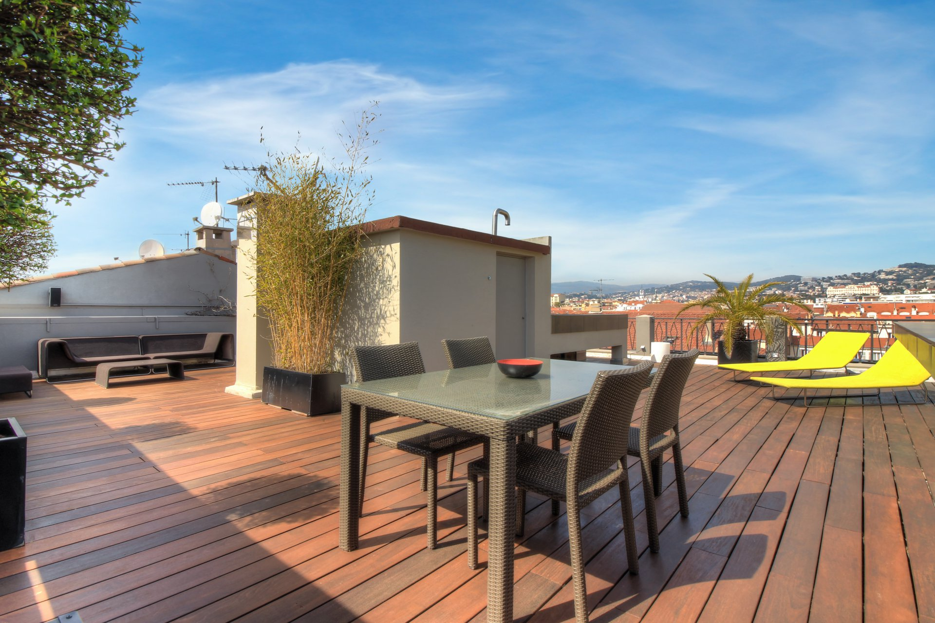 congress rental Flat 4 bedroom close Palais des Festivals Cannes