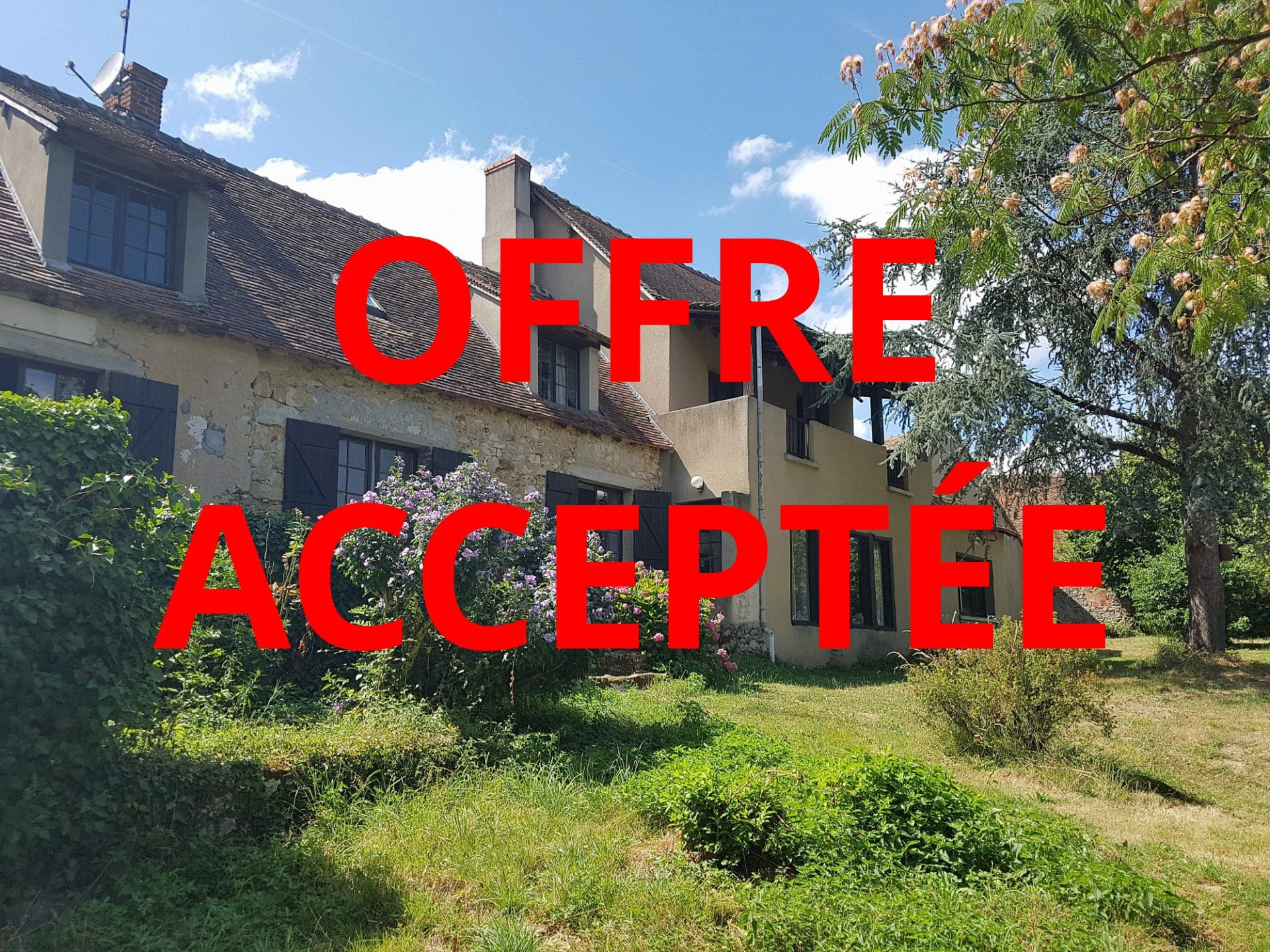 Grande maison avec vue et granges à vendre dans la Brenne 36