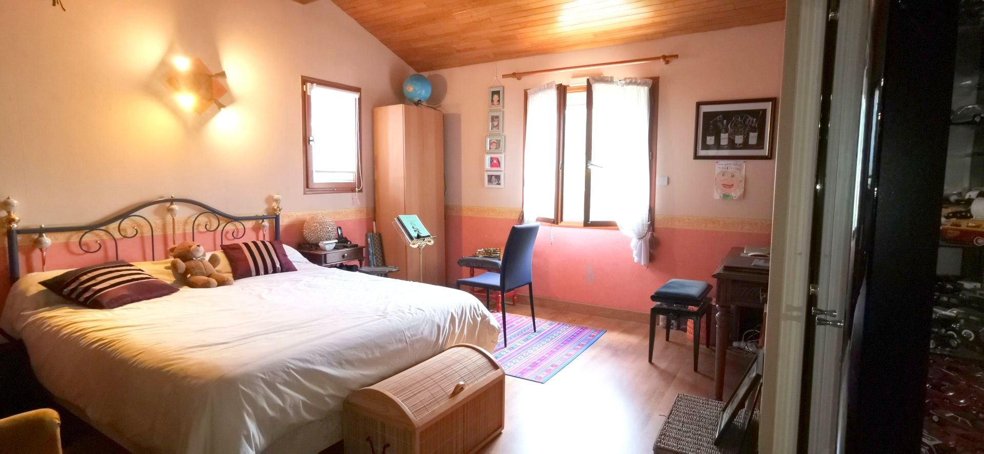Belle maison traditionnelle avec Piscine