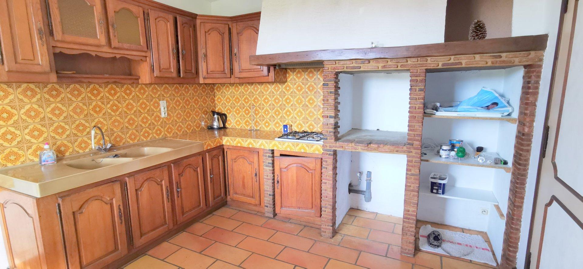 Maison plain pied de construction traditionnelle