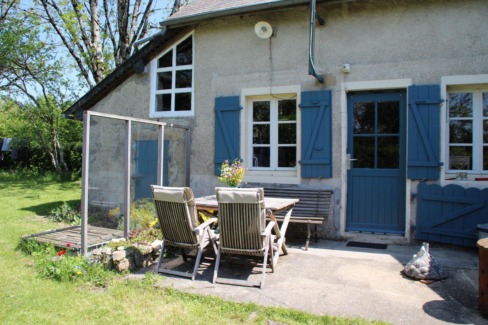 Schattig huisje te koop in de Morvan, Bourgogne