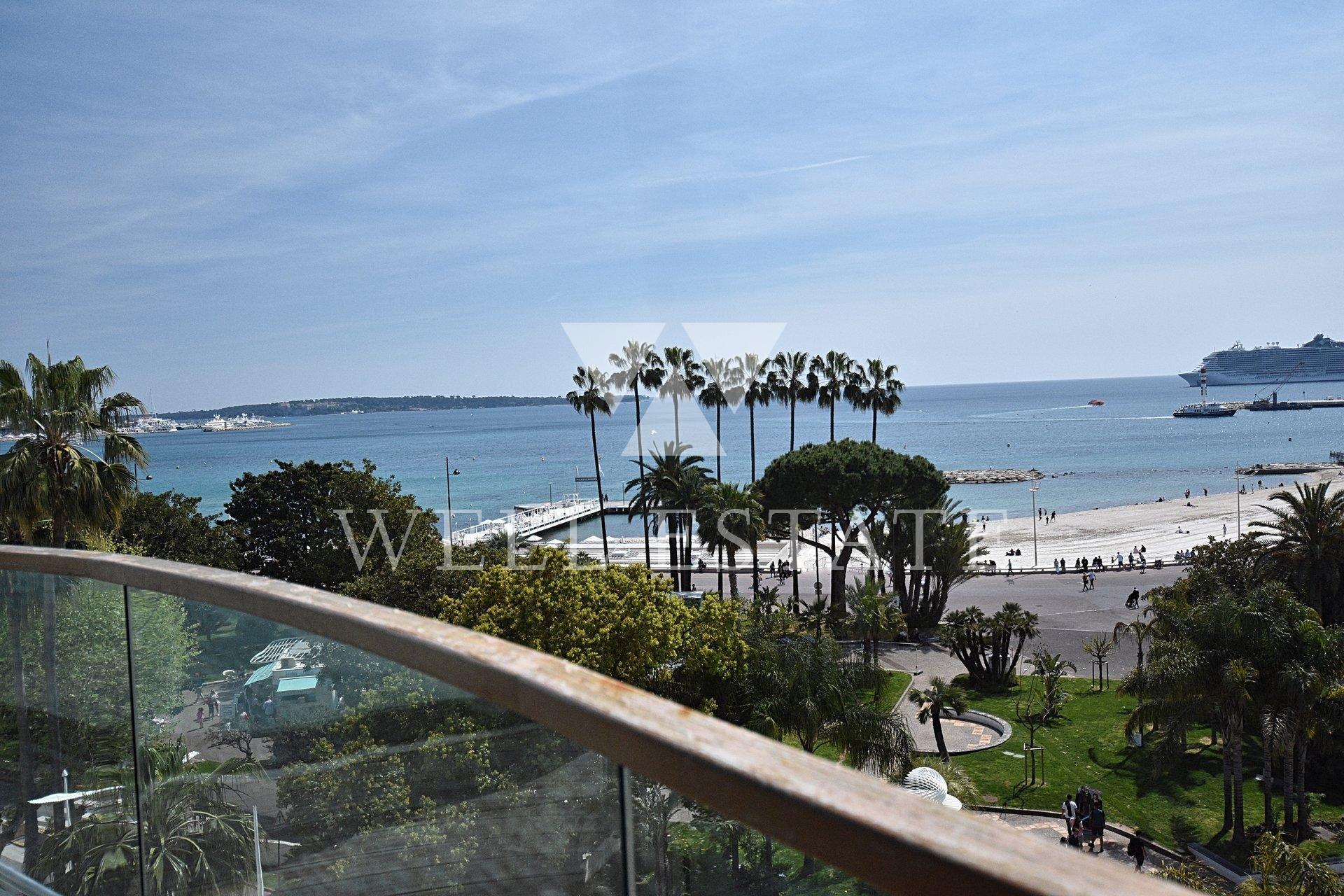 Seasonal rental Apartment - Cannes 7 Croisette - N°603