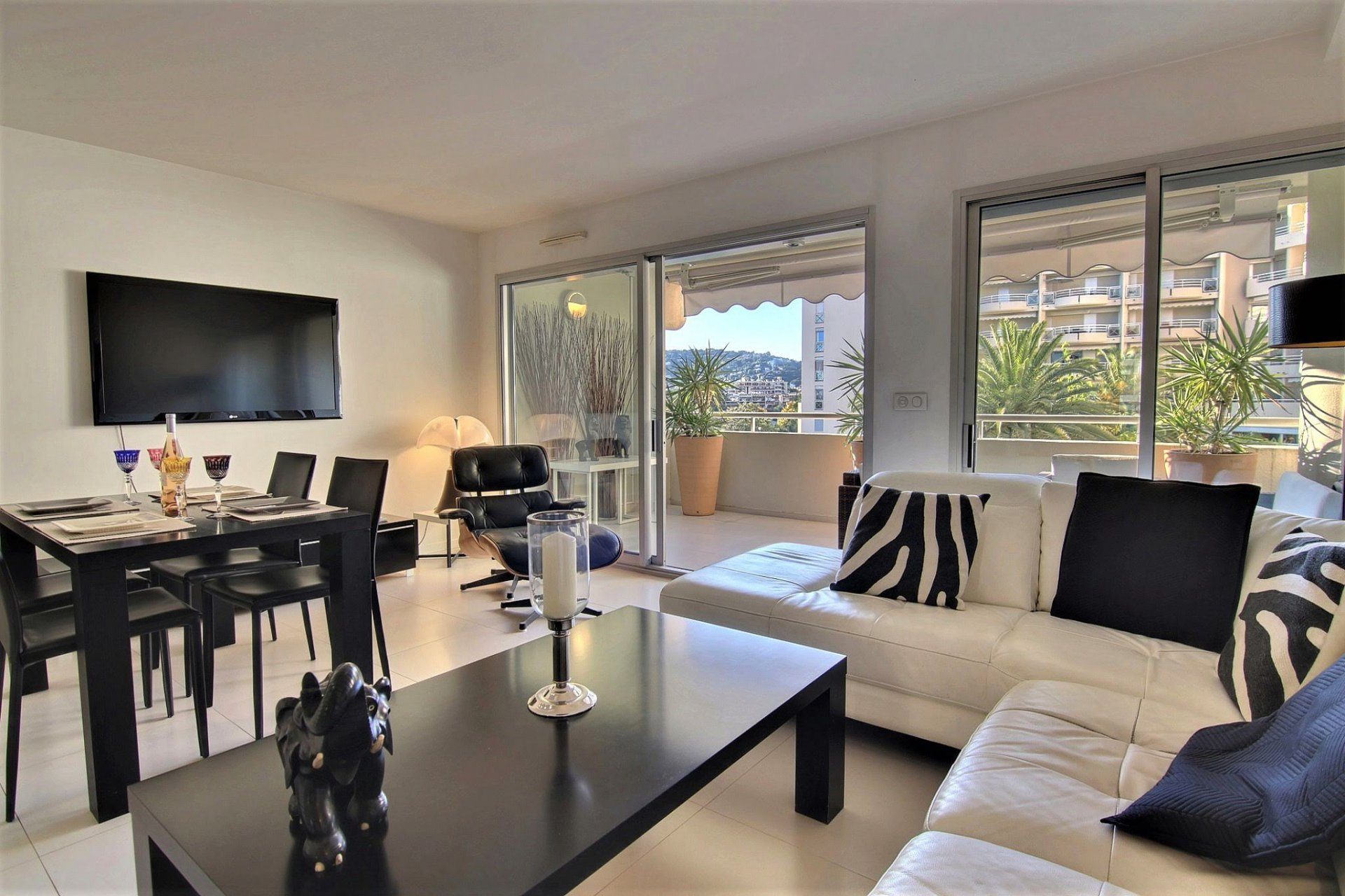 Appartement-loft 2/3 pieces, residence de luxe avec piscine