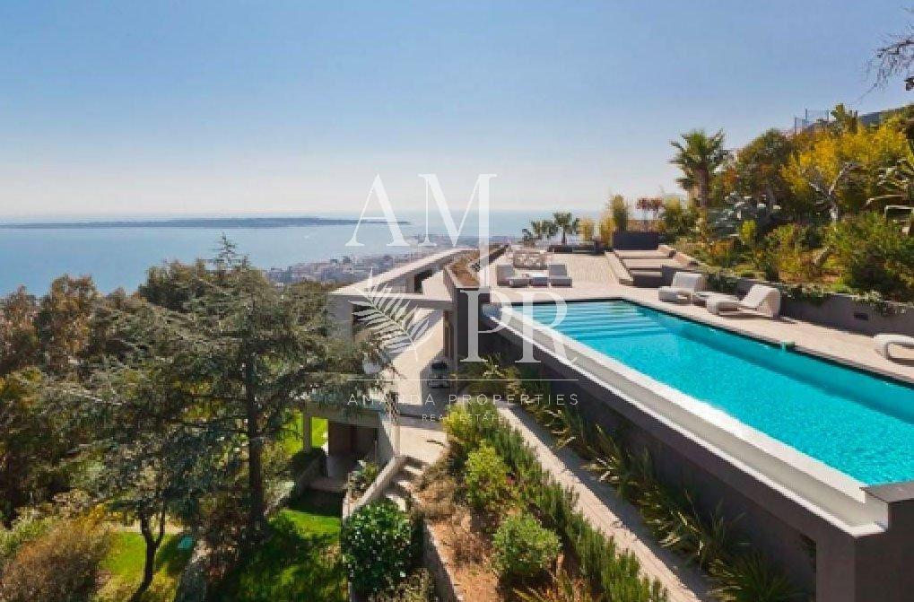 Vue mer panoramique - Cannes