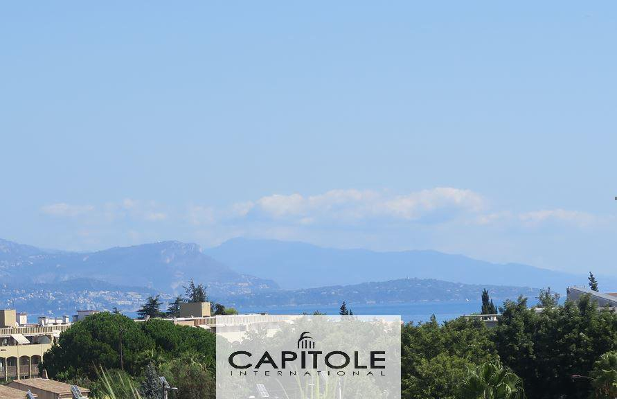 For sale, Antibes near the center, 1 bedroom apartment, sea view, terrace, garage