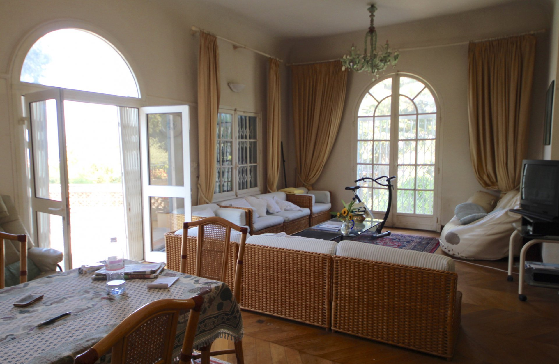 Cannes Montfleury,  charming 4P with sea view and private pool