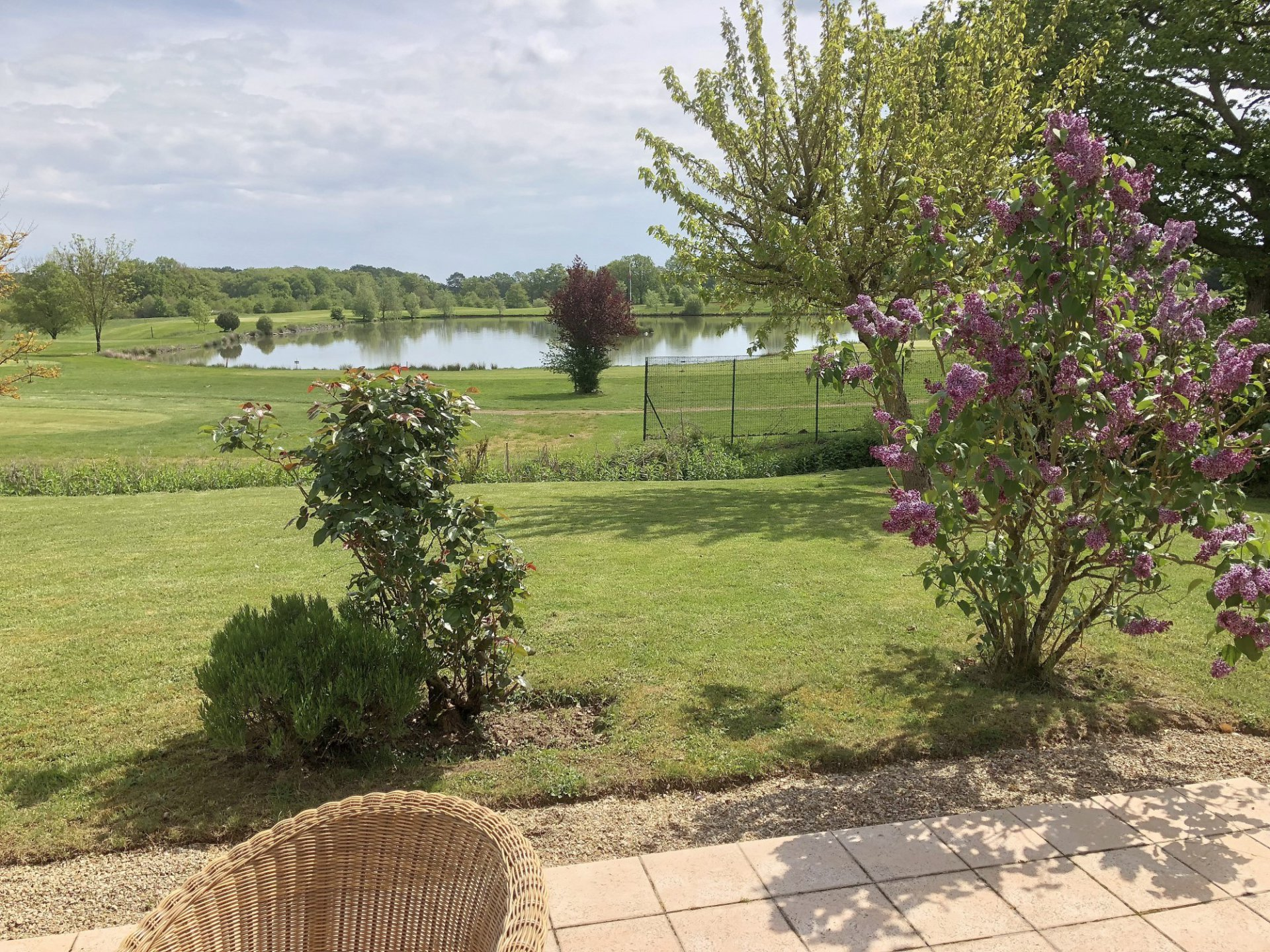 Deux-Sevres (79), golf Les Forges: house with superb view