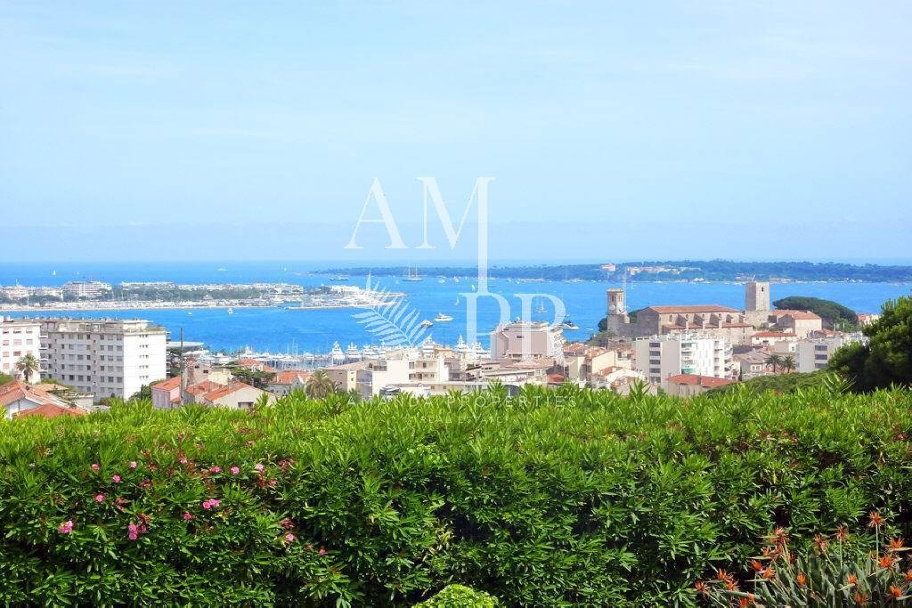 Cannes Croix des Gardes - Modern Villa of 270sqm - Panoramic Sea View -  8 People