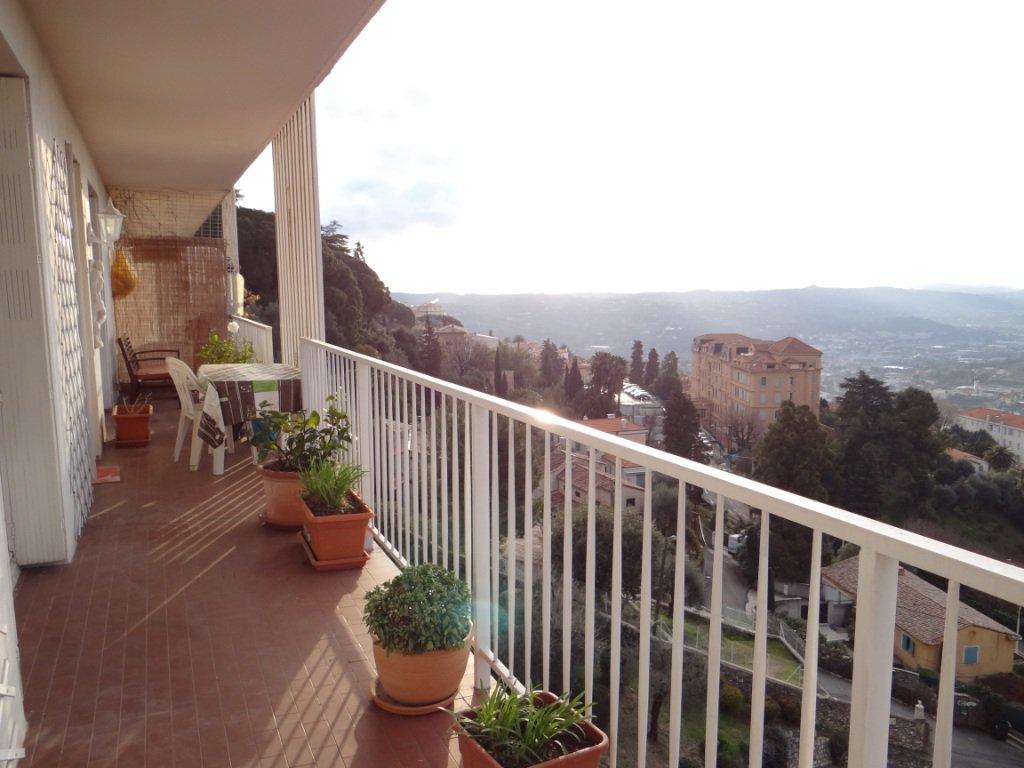 GRASSE HAUTEUR, Appartement 4 Pièces, Vue panoramique mer