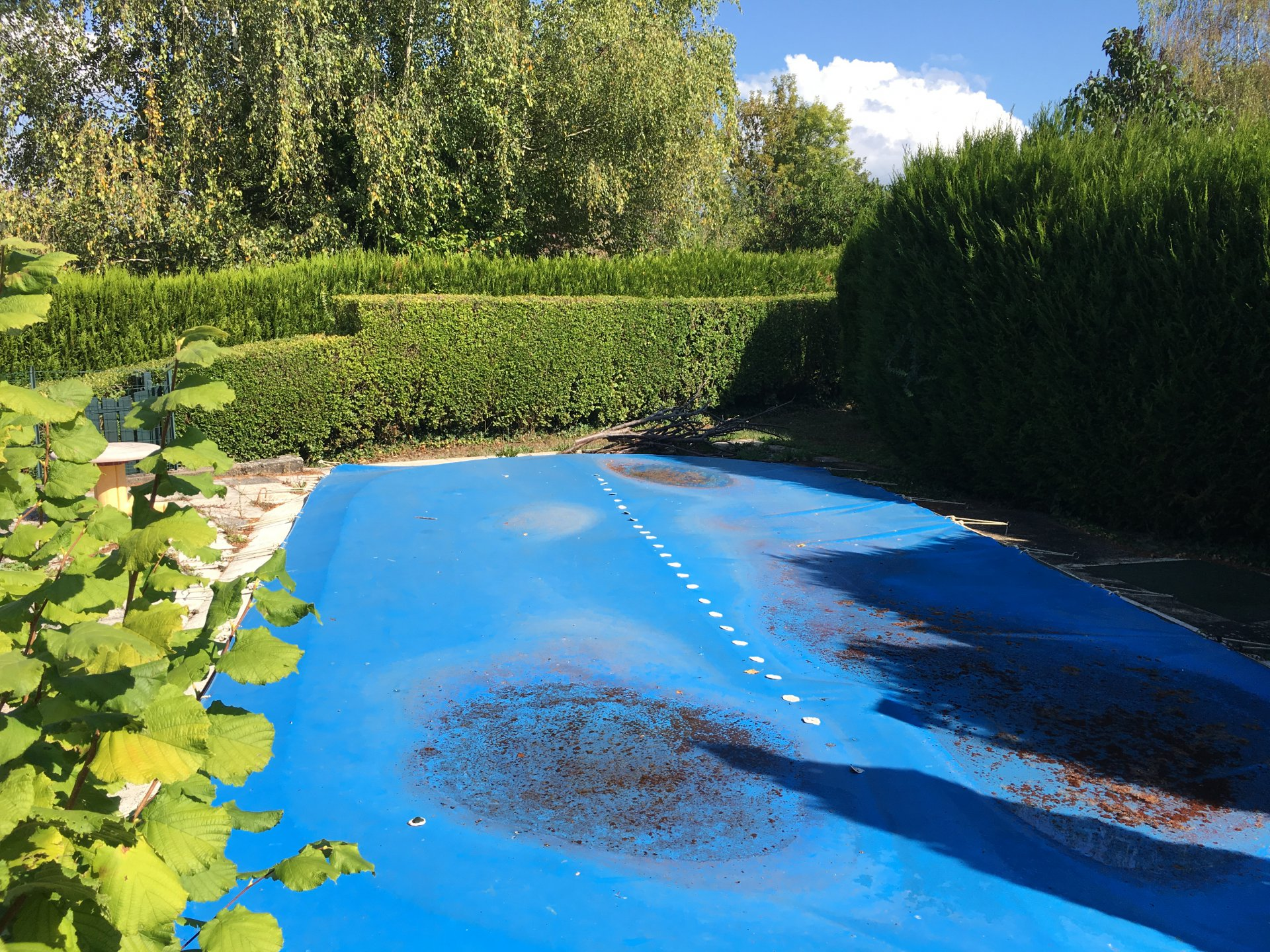 Comfortable house with  pool in the Haute-Saône.