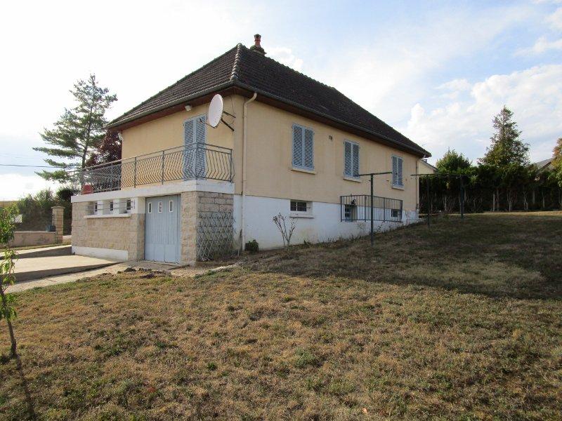 Vrijstaand huis tuin Nièvre 58