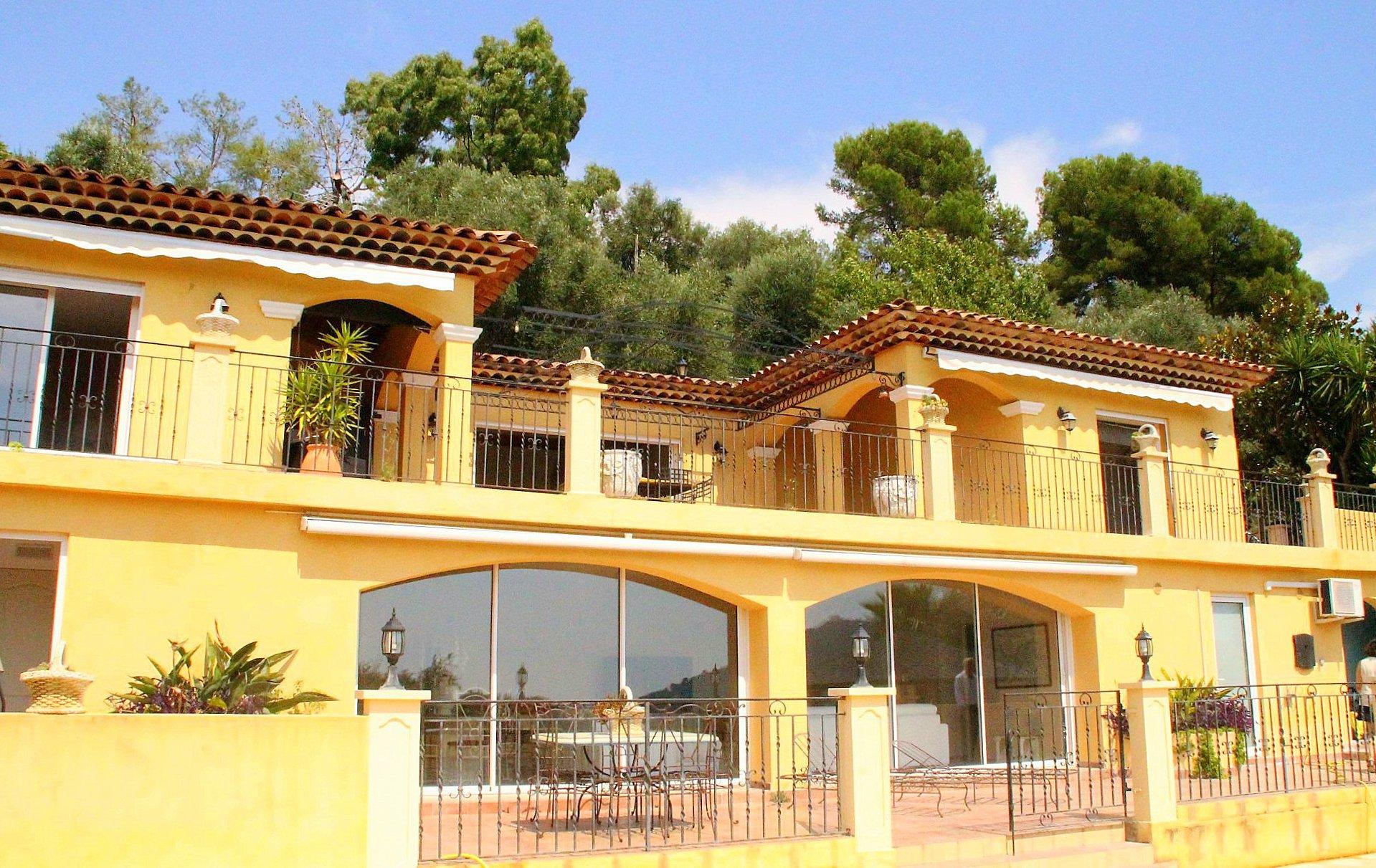 Nice collines villa recente 7p batisse