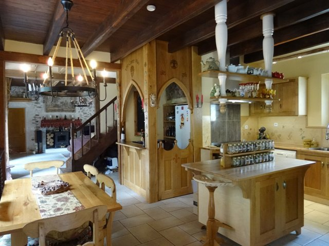 Lustre, îlot de cuisine