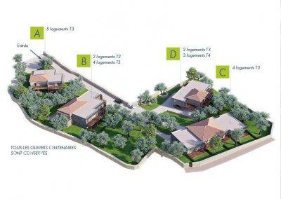 EXCLUSIVITÉ - T3 de 65 M2 + terrasse de 23 m2