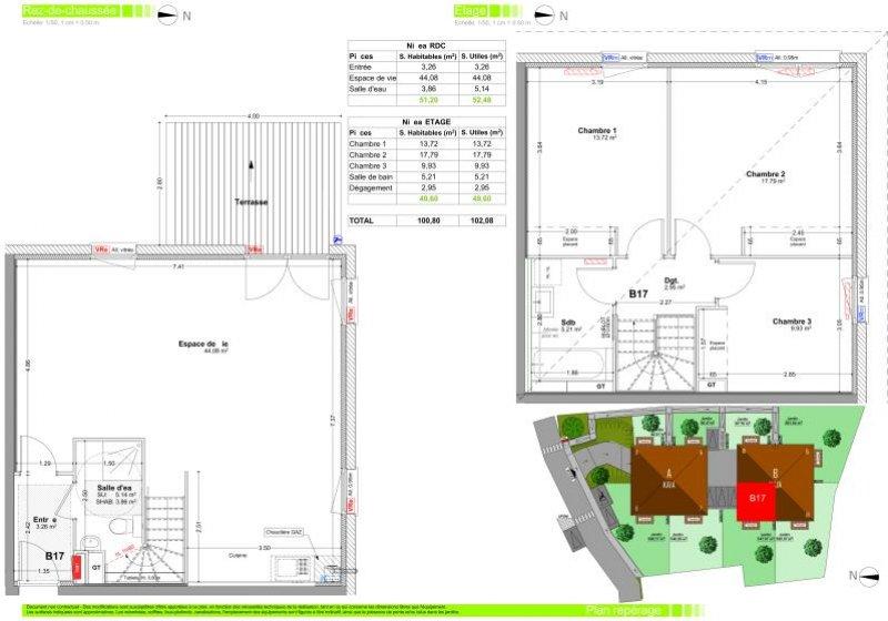 Programme Appartement - Marcellaz