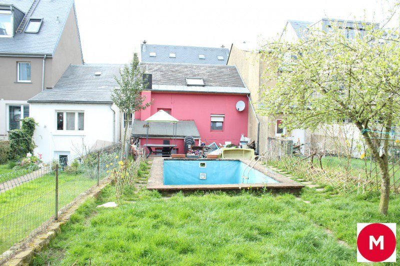 Luxembourg-Bonnevoie: House 3-4 bedrooms with garden