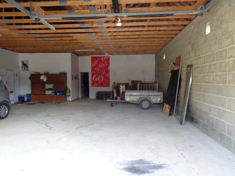 Pavillon + grand garage