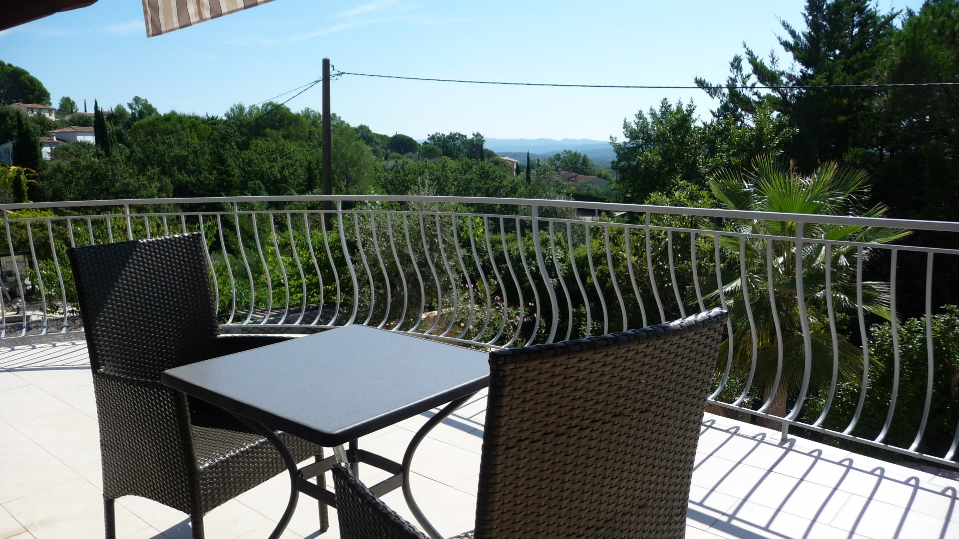 Fayence villa with 2 appartments, pool and panoramic view