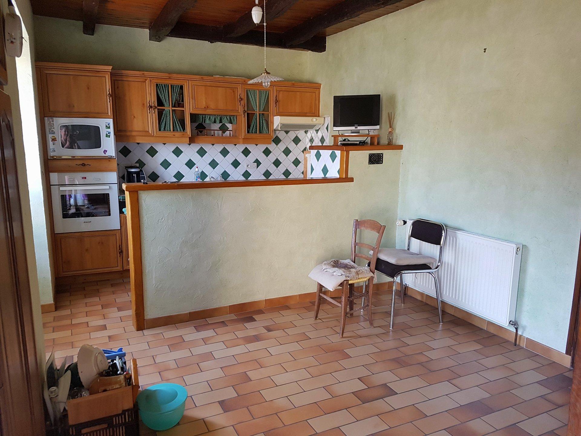 Bij Saint Savin: dorpshuis met binnenplaats