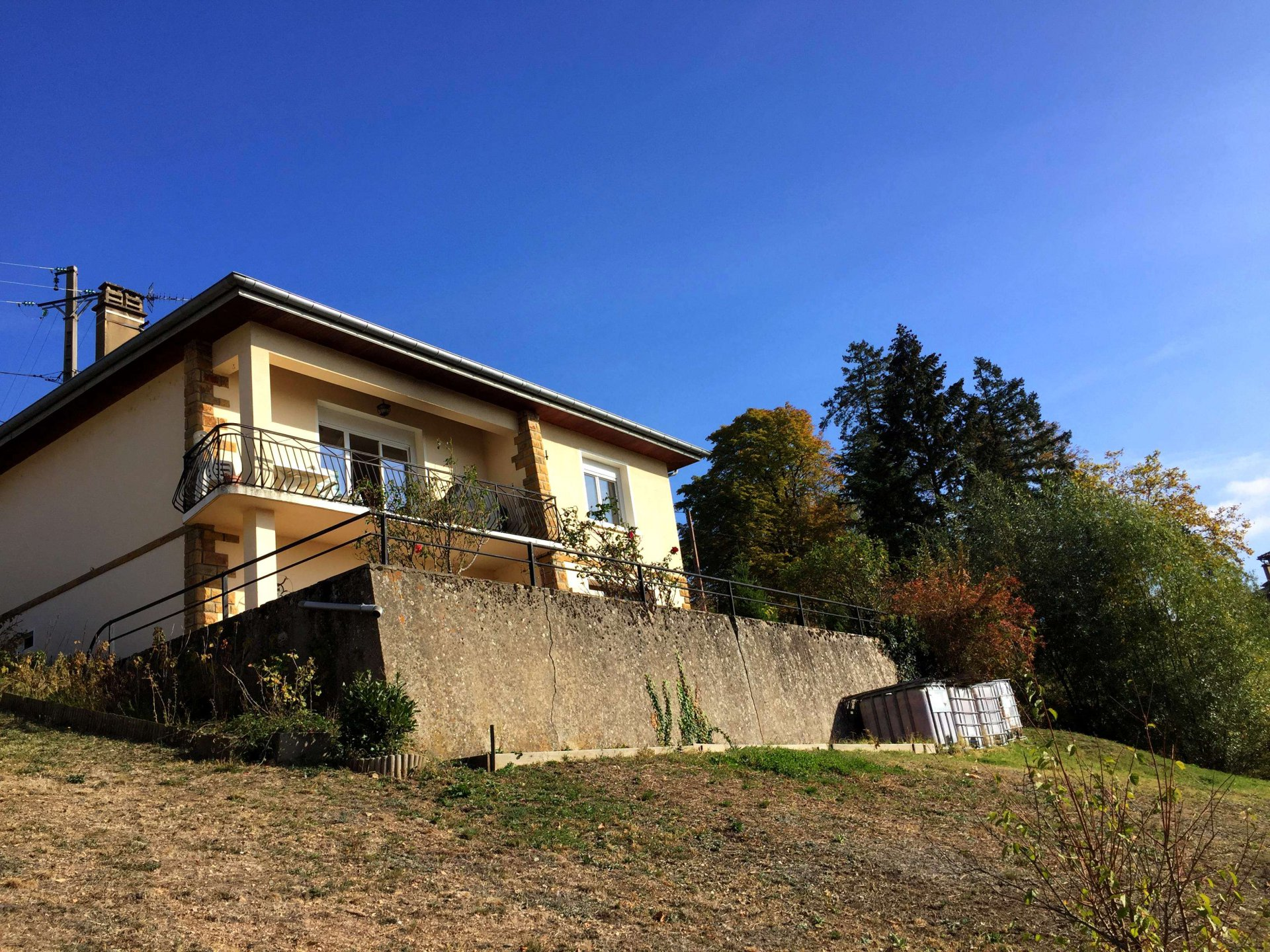 Maison individuelle avec vue