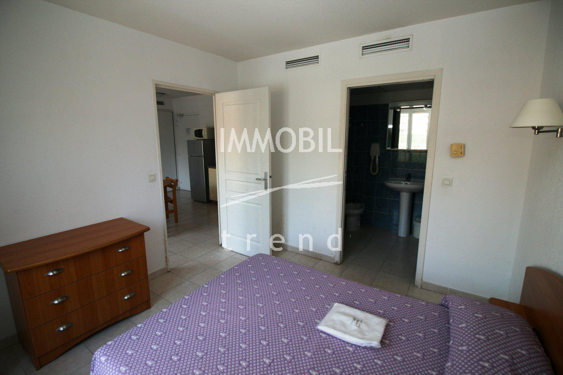 Immobilier Roquebrune Cap Martin 2 pieces avec parking
