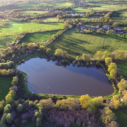 Carp Lakes with 4 Houses for sale Near Confolens - Vienne