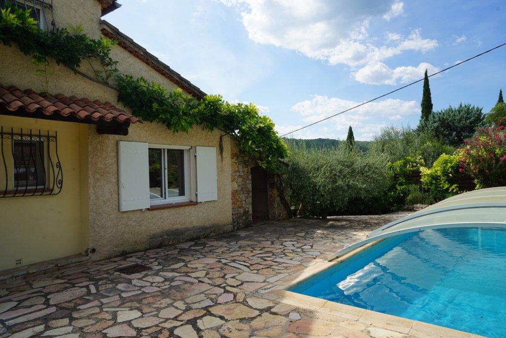 Villa avec piscine - COTIGNAC