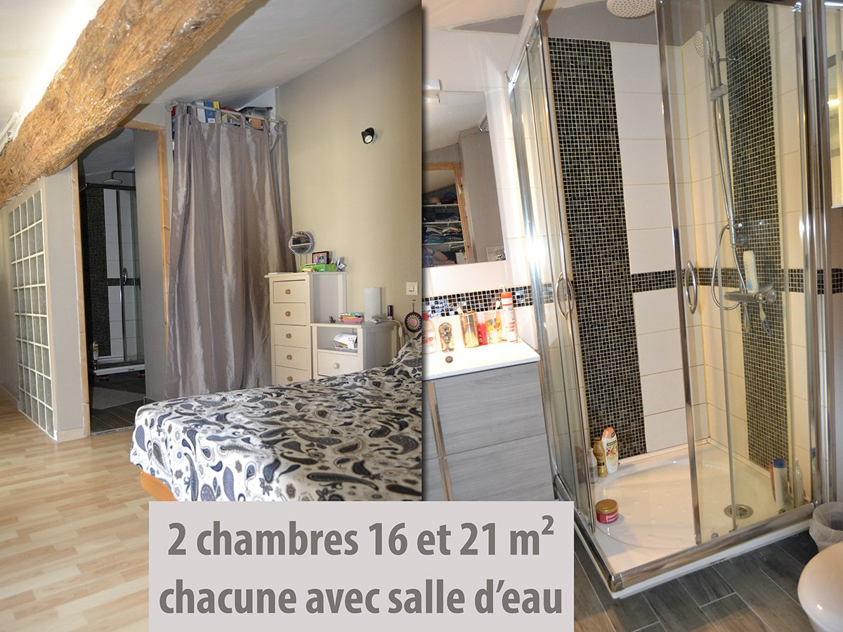 Stone house 70 m², T3, with terrace