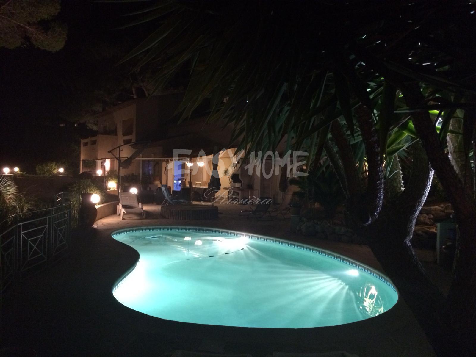 achat vente villa vue mer vallauris residentiel
