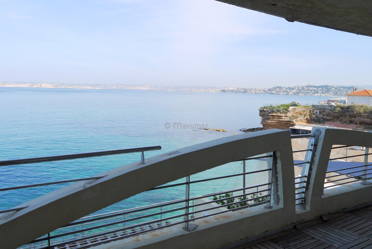 sea ??view Apartment T2 13008 Marseille  Grotte Rolland