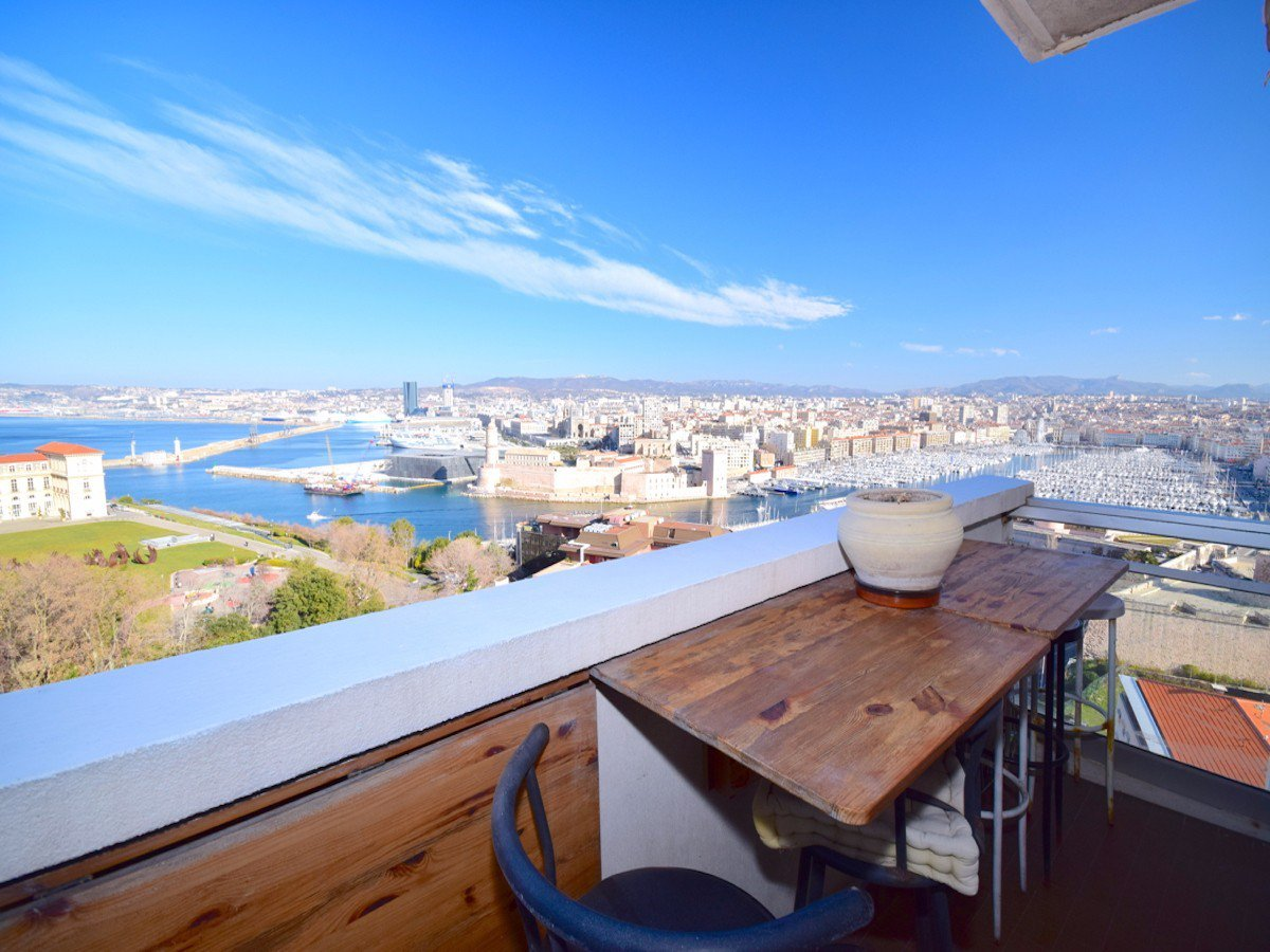 Appartement T2 vue mer 13007 Marseille Le Pharo / 330 000€