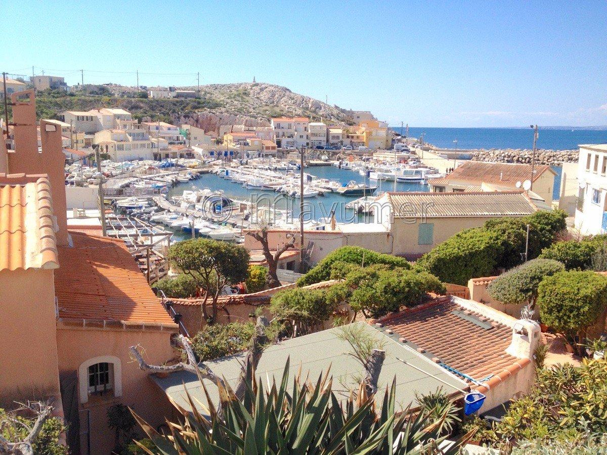 Maison T5 vue mer Les Goudes 13008 Marseille