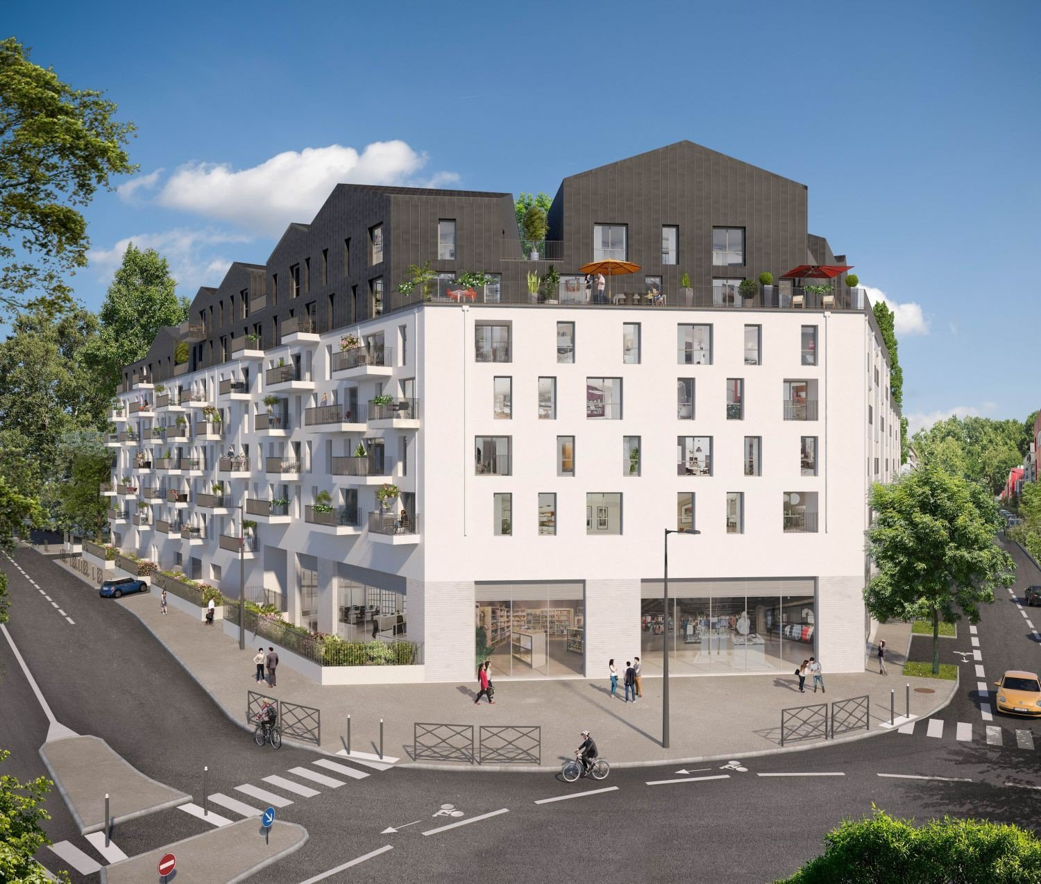 Development Building - Villeneuve La Garenne