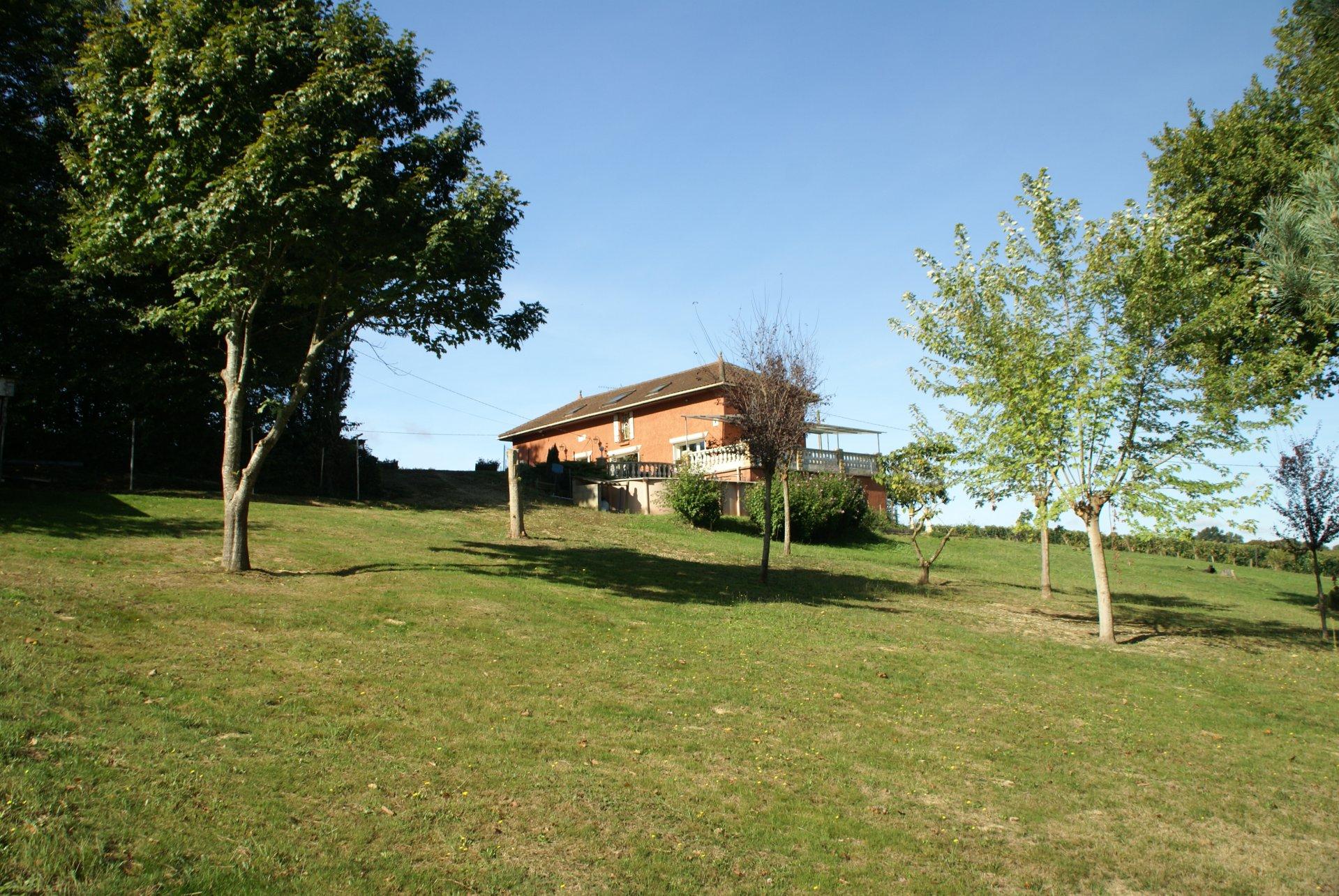 Grande maison familiale avec piscine, Gascogne (Midi-Pyrénées)