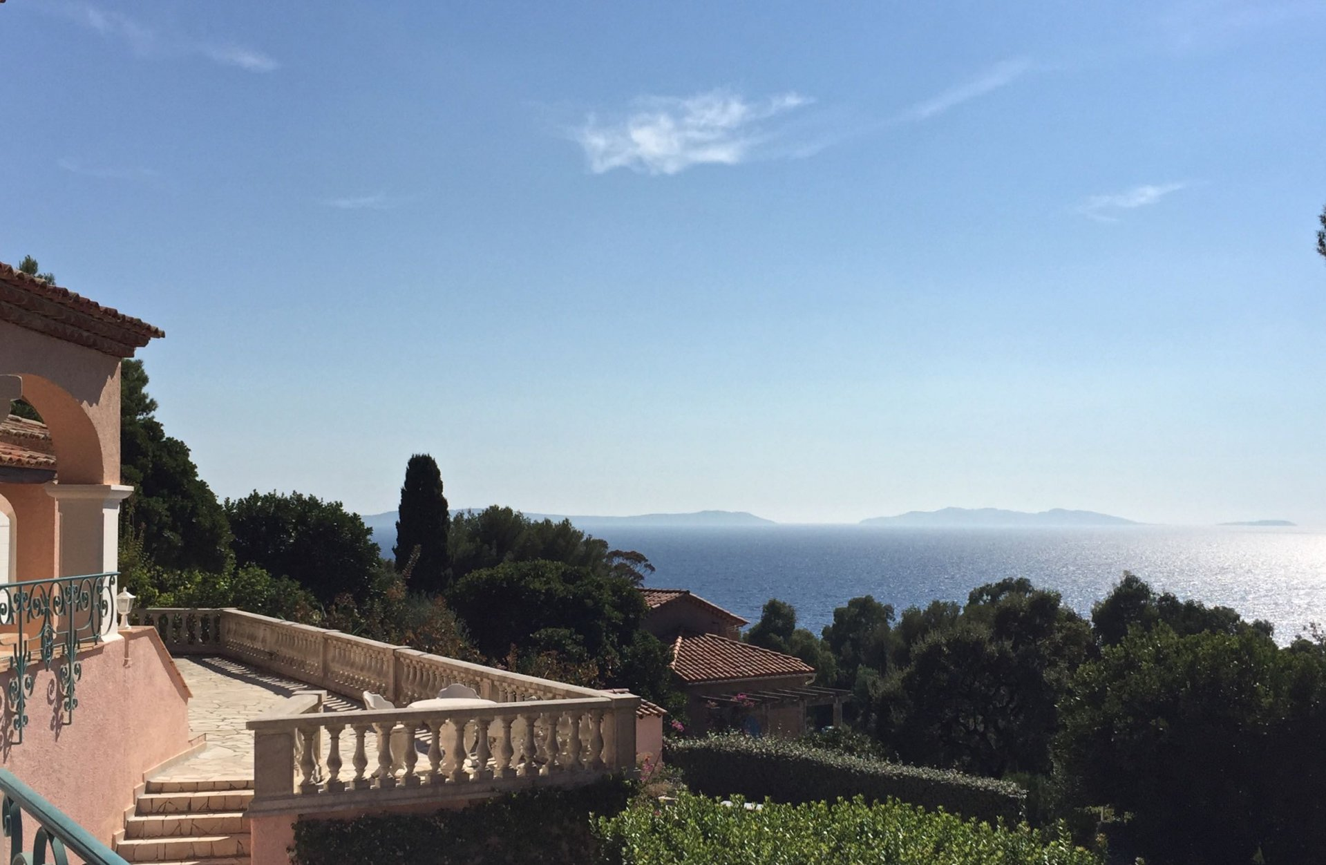 Villa with sea view Rayol-Canadel-sur-Mer Var Provence