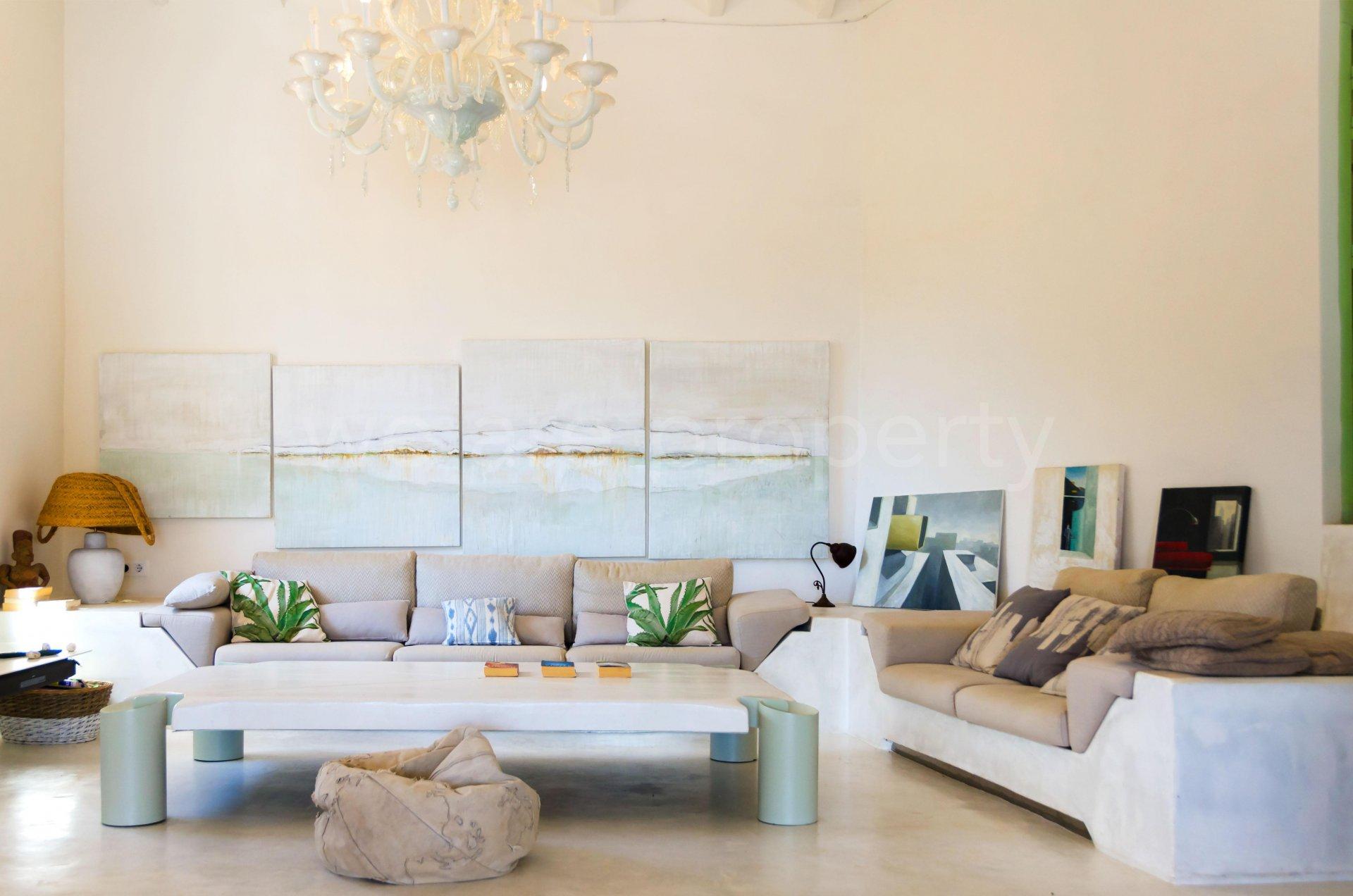 Ibiza Style Interieur : Unique villa ibiza style