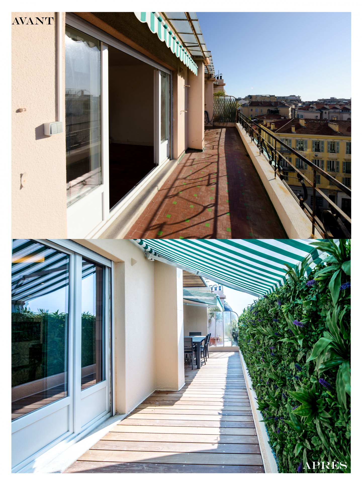 NICE - 3 ROOMS RENOVATED WITH TERRACE NEAR PLACE MASSENA