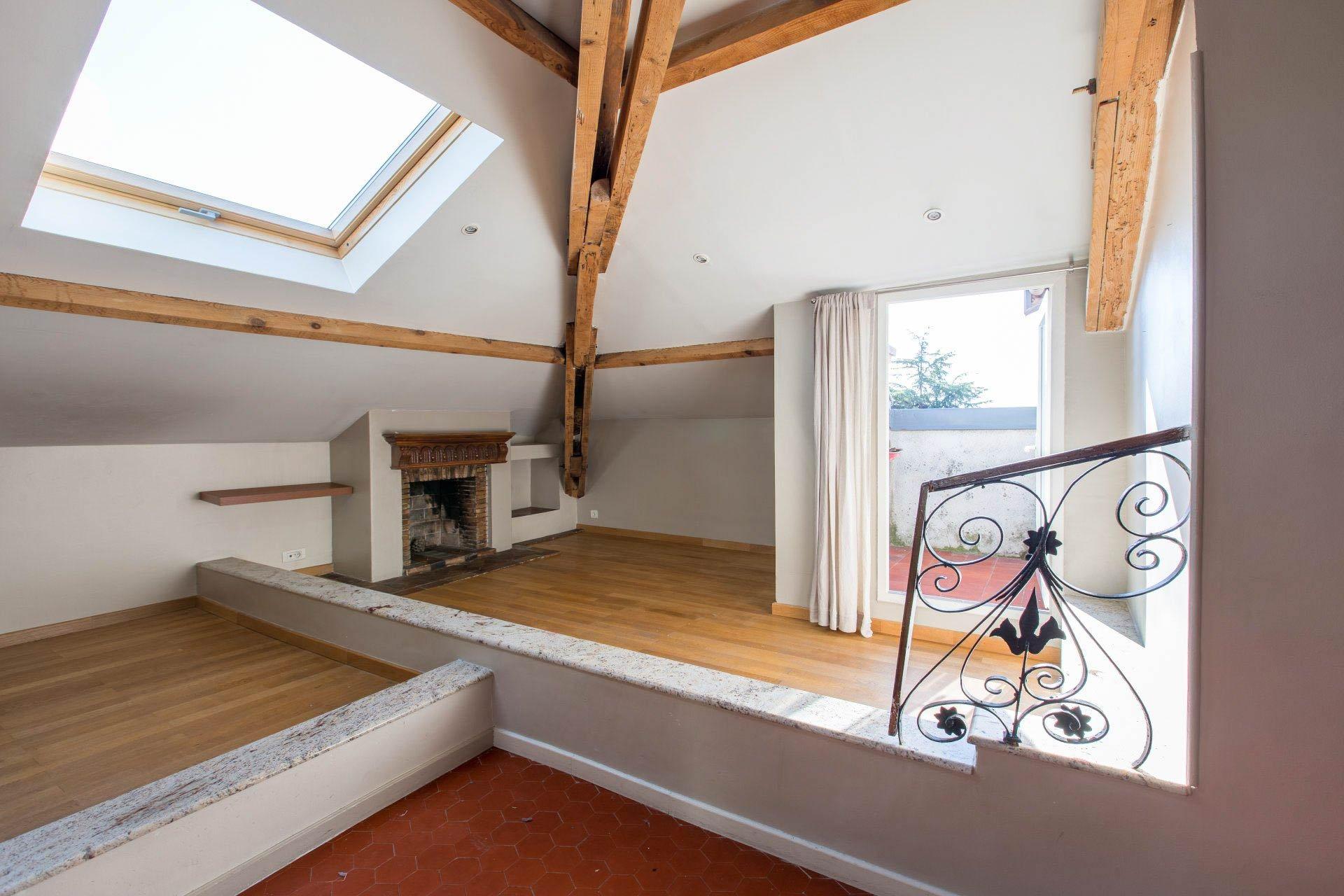 Nice, Gairaut, 3/4 pièces, 2 chambres, mansardé, à vendre, appartement