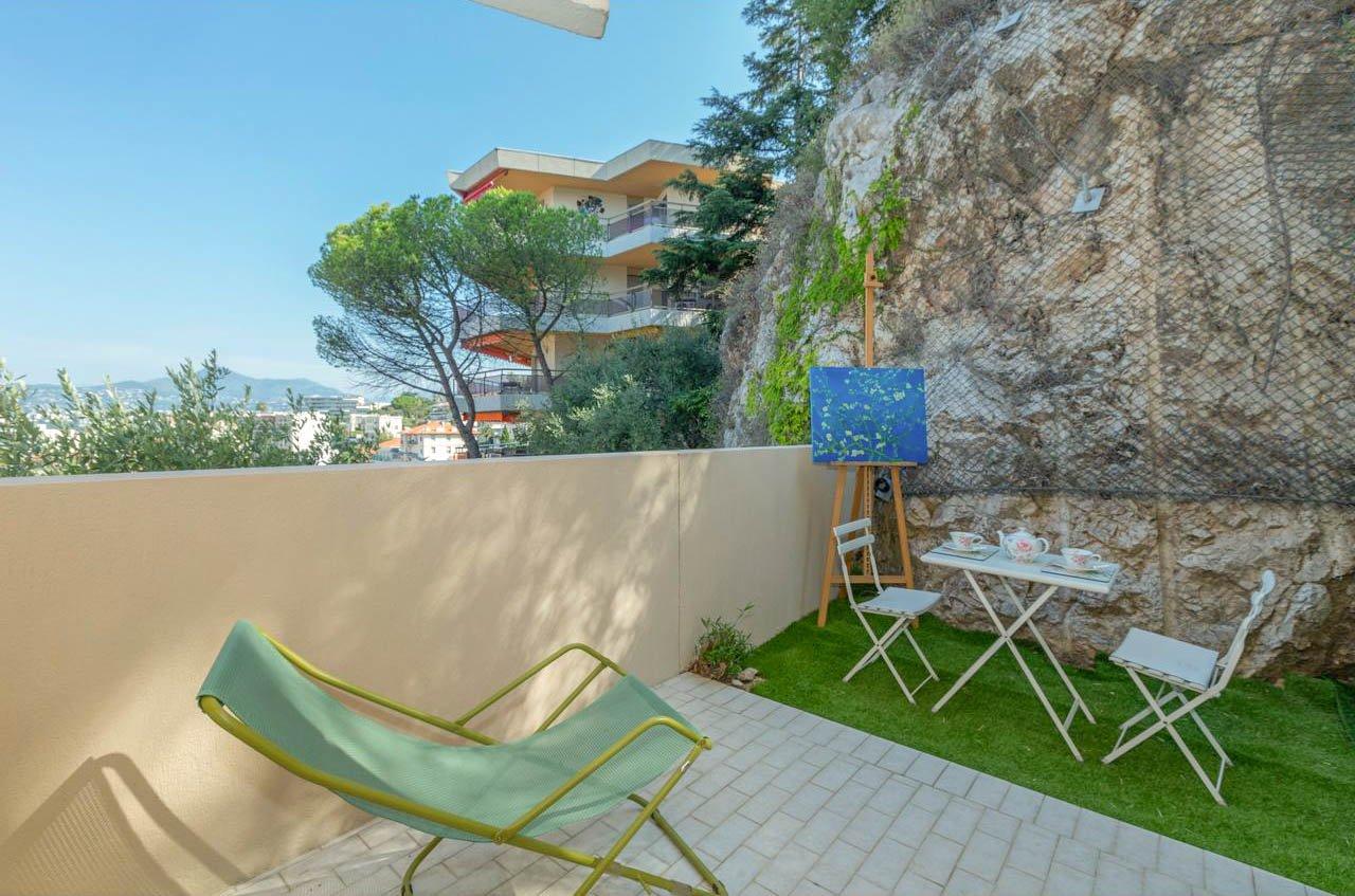 3P avec 2 terrasses - Nice Mont Boron