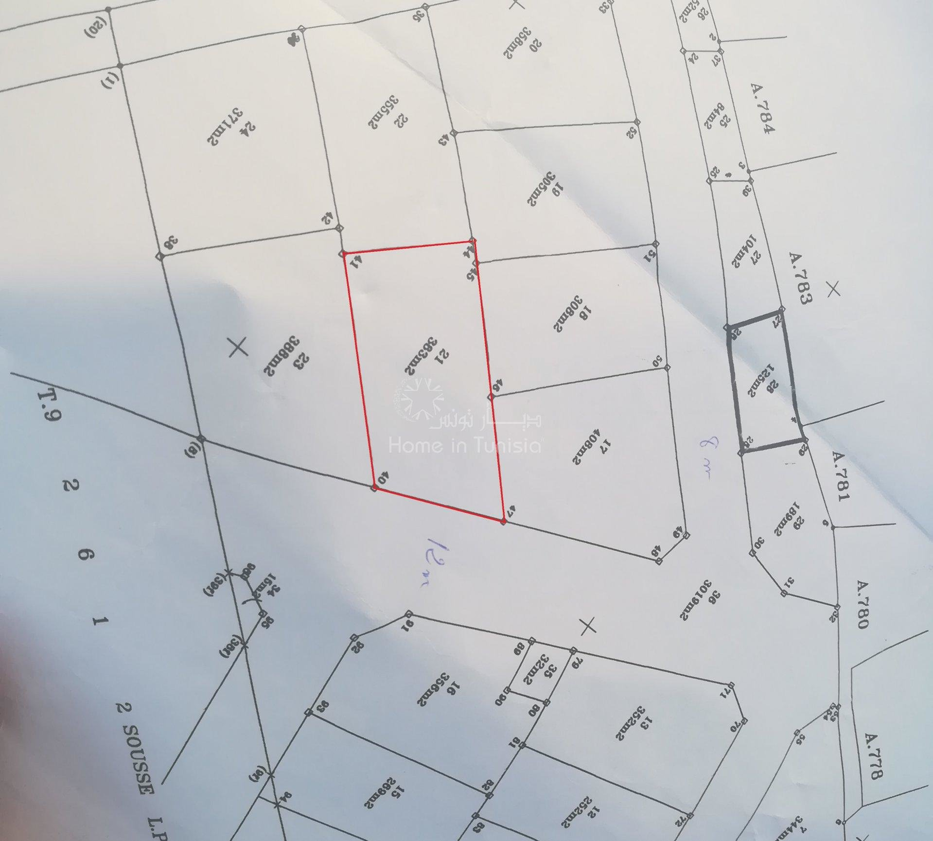 Terrain constructible A kalla Kebira