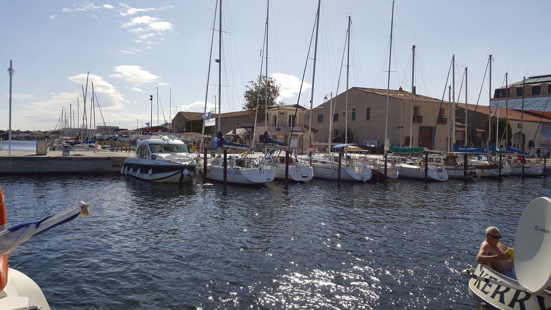 Nybyggnadsprogram i segelbåtshamnen i Marseillan
