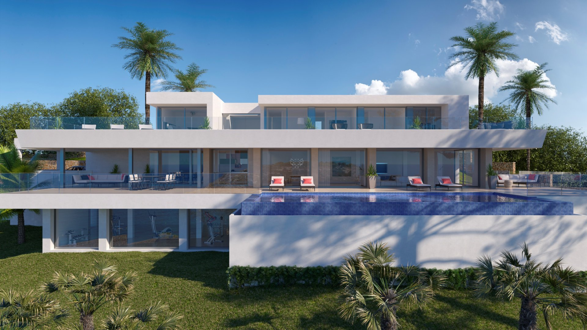 Modern luxury villa in Cumbre del Sol