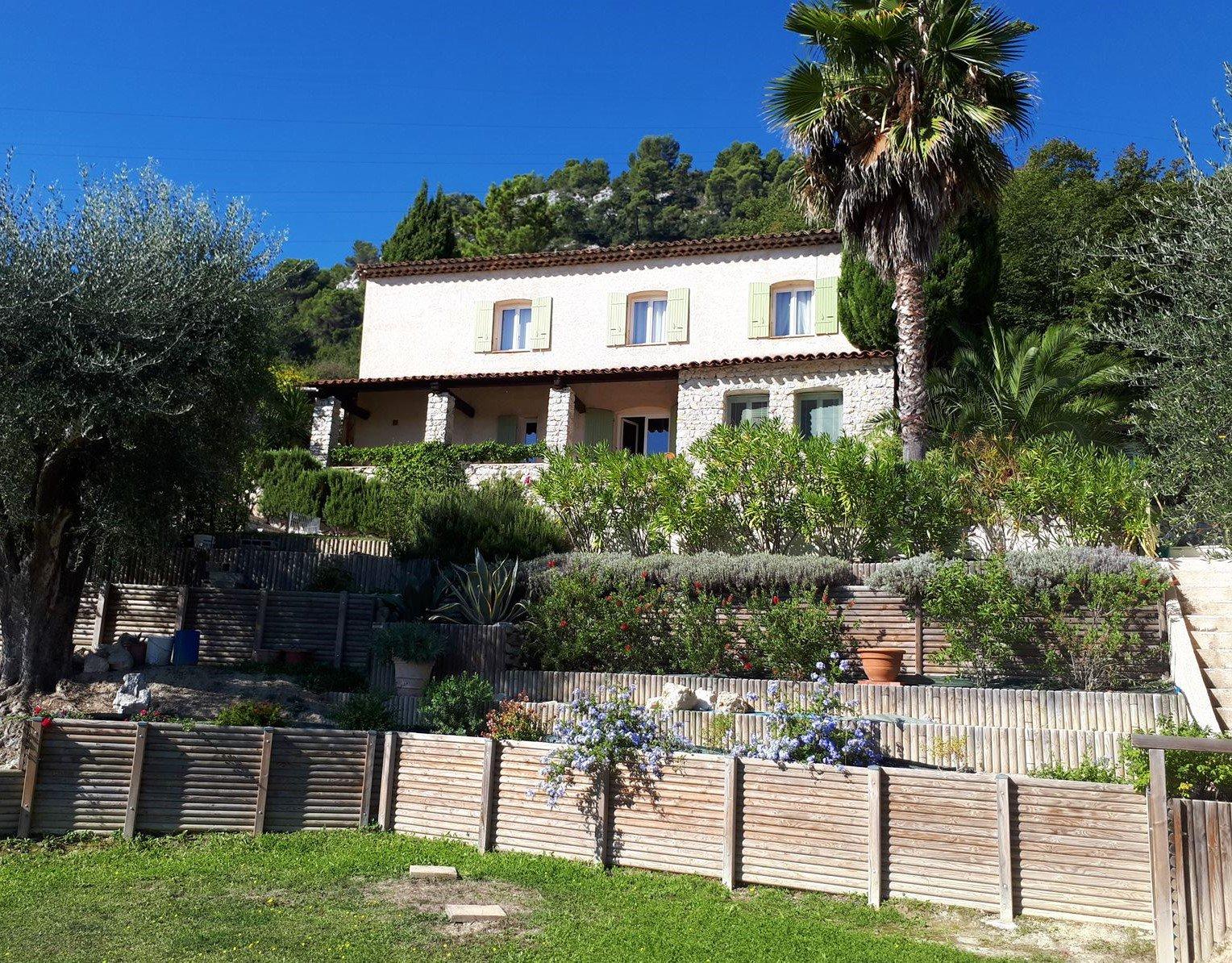 Vente Villa - Tourrette-Levens