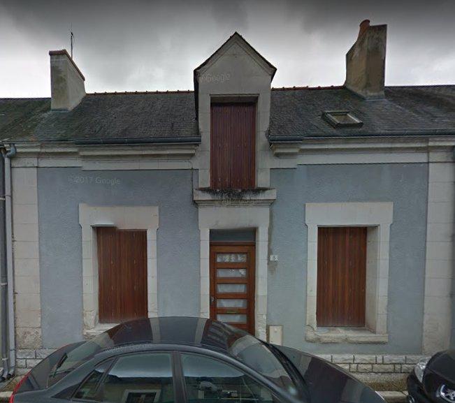 Maison de village - Marcilly sur Maulne