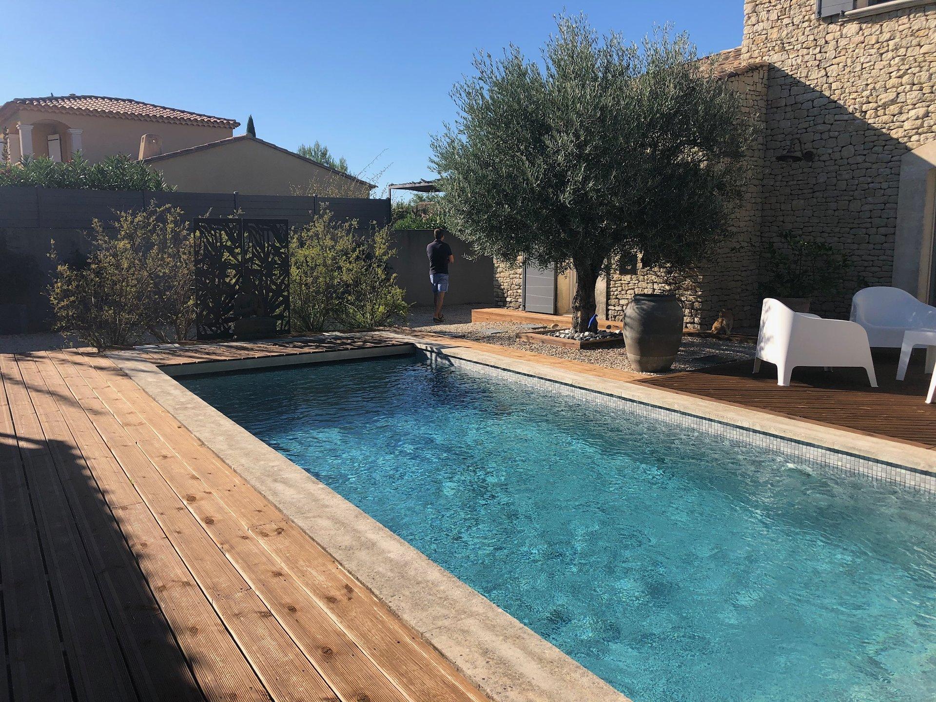 Charmante maison contemporaine avec piscine Chateaurenard