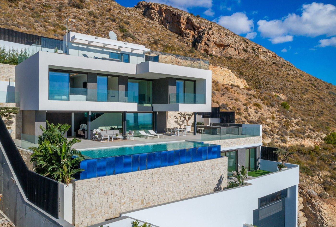 Très luxe nouvelle construction sur les collines de Finestrat