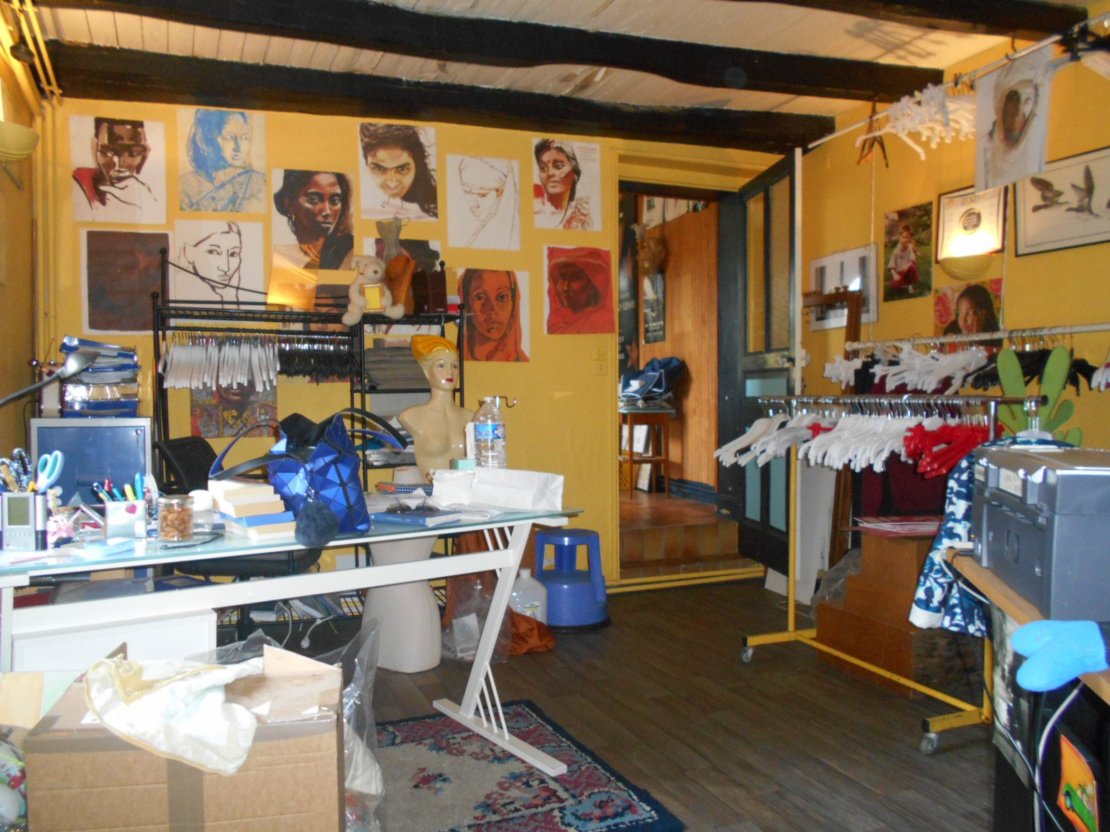 Local commercial et appartemnt au coeur de Thouars