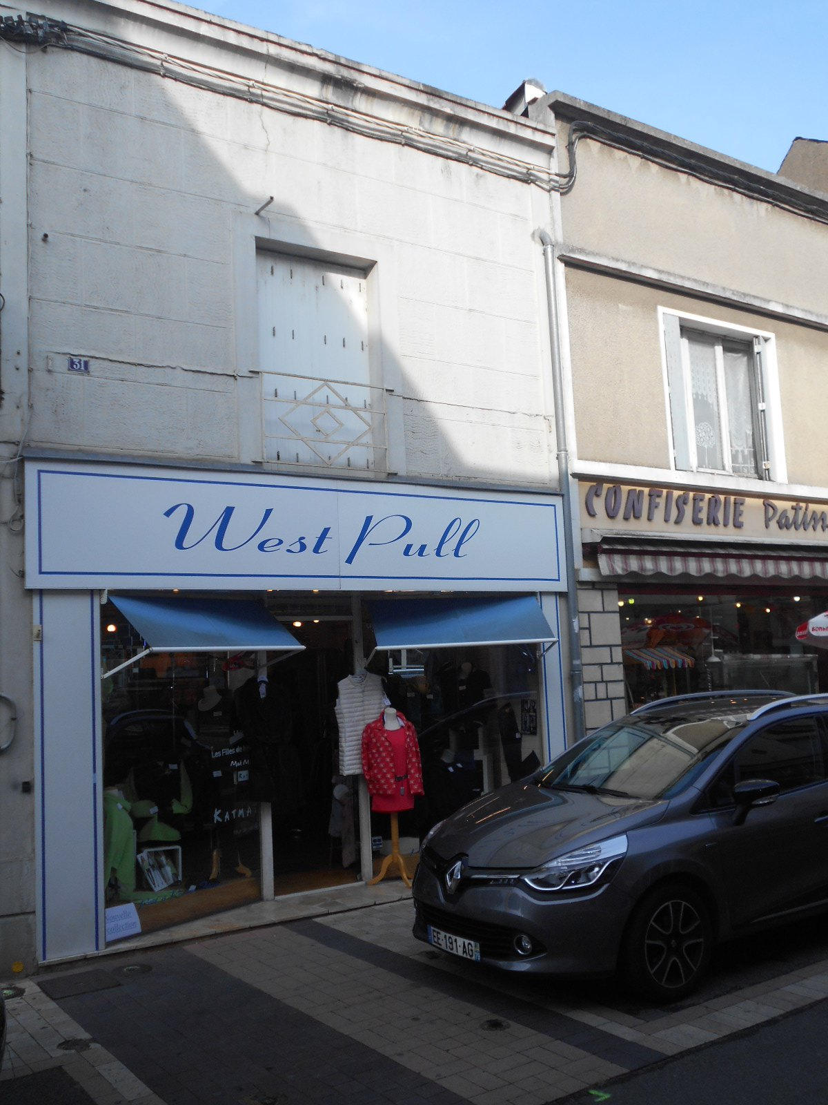 Local commercial et appartemnt au coeur de Thouars
